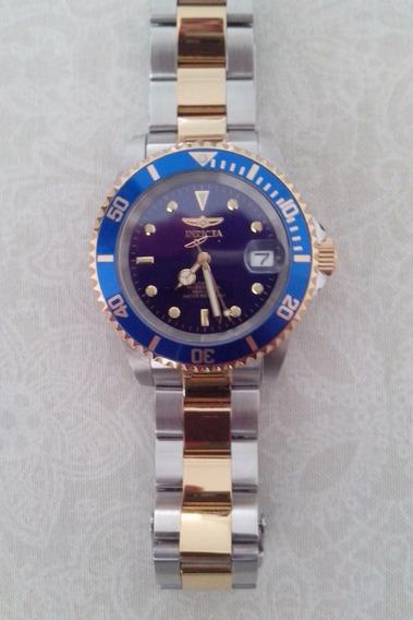 Relógio Invicta Automático, Com Caixa, Manual E Certificado
