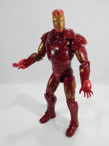 Boneco Homem De Ferro Hasbro Repulsor Power 30 Cm Luz E Som