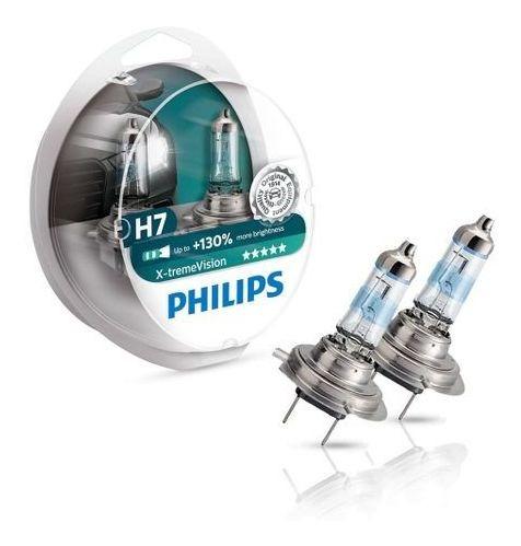 Lâmpada Philips Farol X-treme Vision H7 Par