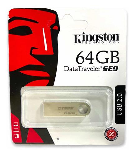 Memoria Usb 64gb Kingston Entrega Inmediata