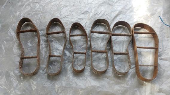 Cortantes De Suela Tipo Zapatos (moreno)