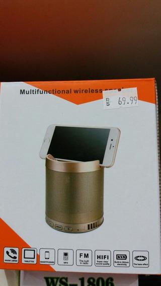 Radio Bluetooth Portátil Usb E Micro