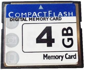 Lote Com 10 Compact Flash Cf Card 4gb - Nova Classe 10