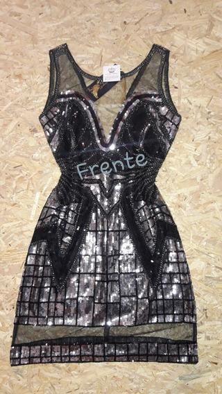 Vestido Bordado Pedraria Festa Luxo Blogueira Instagram