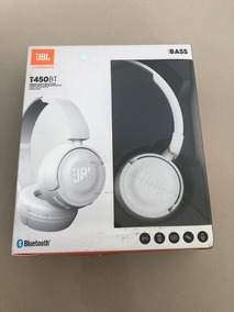 Fone De Ouvido Com Microfone Bluetooth Jbl T450 Branco