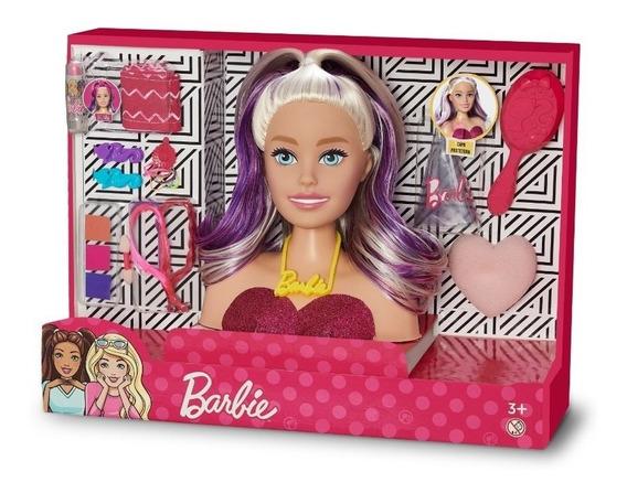 Barbie Busto Original Para Pentear Maquiar Maquiagem Nova