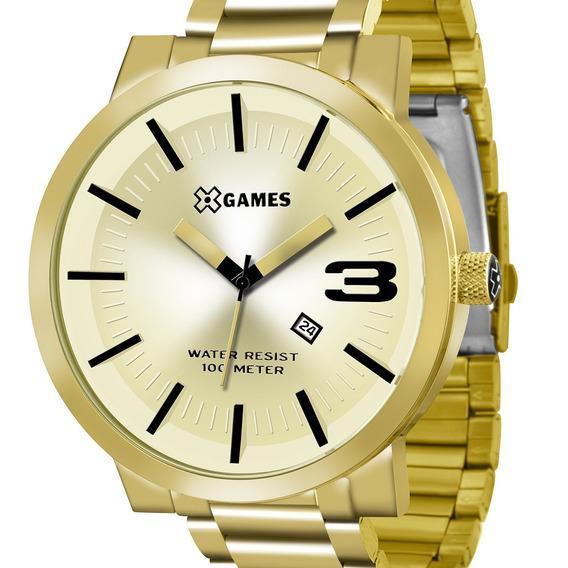 Relógio X-games Masculino Xmgs1007 C2kx Original C/ Nota
