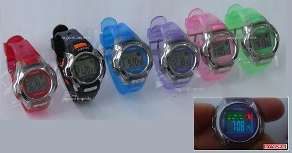 Relógio Infantil Synoke - Várias Cores - 12 X Sem Juros