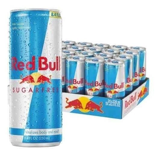 Red Bull Sugar Free Bebida Energetica 24 Pack Envio Gratis