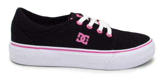 Tenis Dc Shoes Trase Tx Adgs300061 Bbp Black/pink