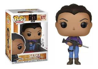 Figura Funko Pop The Walking Dead - Sasha 577.original Wabro