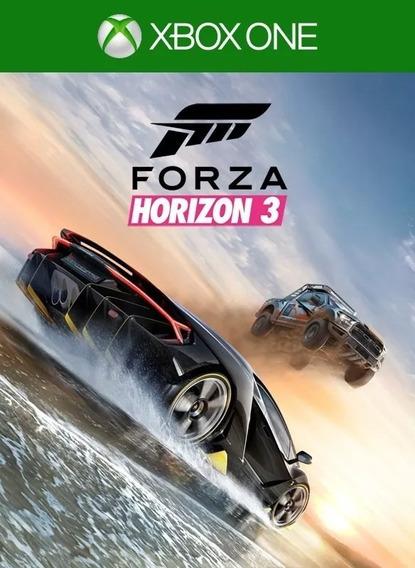 Forza Horizon 3 - Xbox One - Em Português-br - Mídia Digital
