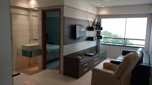 Apartamento Mobiliado Com 02 Quartos Em Boa Viagem - Ap0147