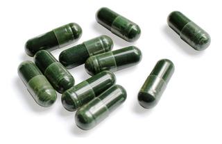 1 Frasco 60 Caps Chlorella Alga Clorella Orgánica 100% Pura