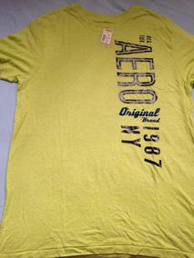 08fe3665d3 Camiseta Básica Aeropostale Tamanho G   L Original Algodão
