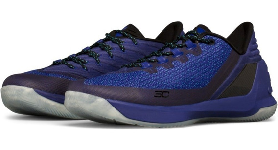 Under Armour Steph Curry 3 Low Tenis Basquetbol Hombre 6.5