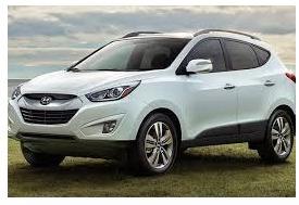 Hyundai Tucson 2012 Blanca Cel.829-274-1680 Jacqui