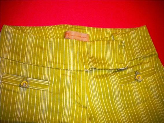 Tucci Original- Rayado -elastizado -talle Xs -calza Divino-