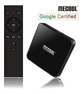 Tv Box Mecool Km3 C/voz Android 9.0 Certificado 4gb 64gb