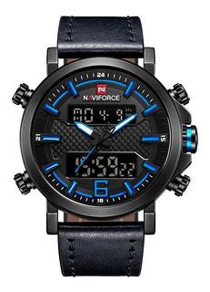Reloj Hombre Naviforce 9135 Dual Time