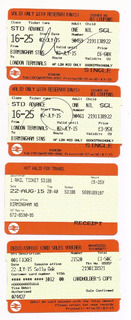 Boletos Extranjeros De Transporte Metro También Cambios