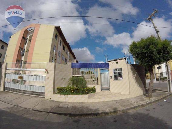 Apartamento Para Locação Em Messejana Próximo Ao Hospital Do Coração - Ap0334