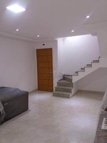 Cobertura À Venda Por R$ 750.000,00 - Nova Gerti - São Caetano Do Sul/sp - Co0246