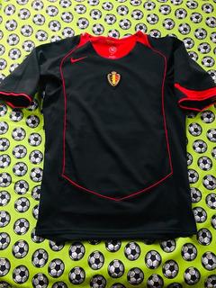 Jersey Camiseta Nike Seleccion De Belgica Visita 2004 2005