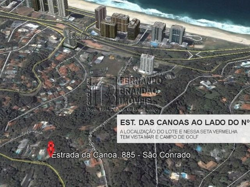Imagem 1 de 6 de Terreno Em Rio De Janeiro - São Conrado