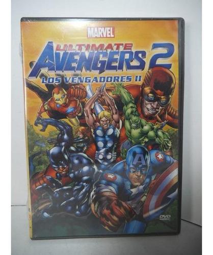 Ultimate Avengers 2 Los Vengadores  Dvd