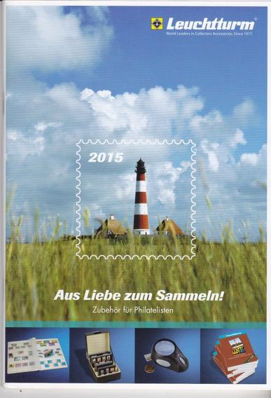 Novo Catálogo De Filatelia - Material Alemão Leuchtturm