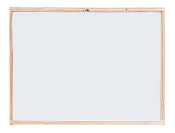 Lousa Quadro Branco Escolar Xalingo Moldura Madeira 60x80cm