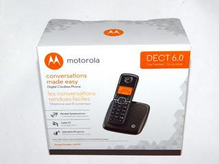 Telefono Motorola Inalambrico Con Altavoz L601m Dect 6.0