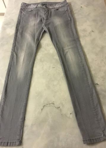 Jean, Pantalon Zara Gris Pantalon Talle 13/14 Mujer