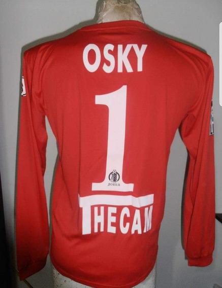 Camiseta Arquero Getafe Roja 1 Osky