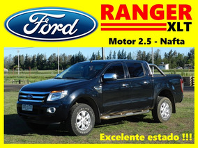 Ford Ranger 2.5 Xlt Nafta, Doble Cabina, Excelente Estado.