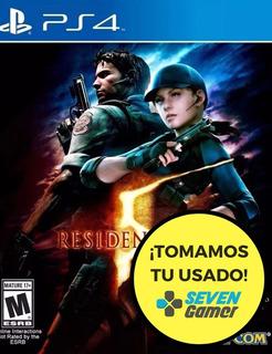Resident Evil 5 Ps4 Fisico Sellado Nuevo Cuotas Sevengamer