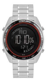 Relógio Technos Masculino Prateado Racer Bj3373ab/1p