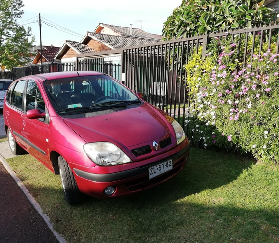 Renault Scenic 1.6 Rojo Cereza Año 2005