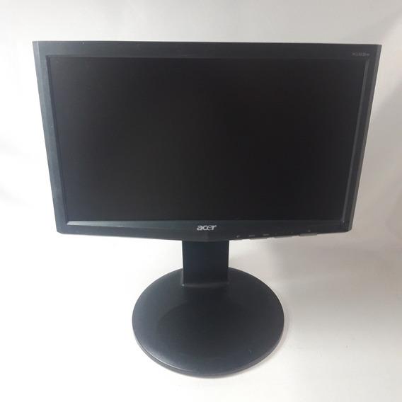 Monitor Lcd Acer X163w 15.6 Wide Preto