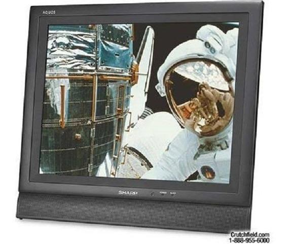 Monitor Sharp Aquos Lc-15e1ub Black 15 Cristal Liquido Nova