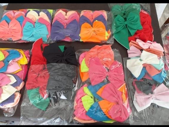 12 Colitas Moños, Lazos, Varios Colores, Oferta Especial!!!