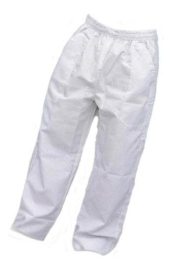 Uniforme Calça Brim Branca Profissional Pronta Entrega