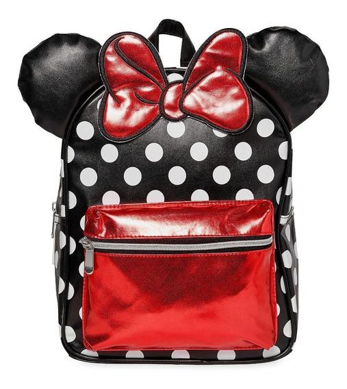 Minnie Mouse Mochila Fashion Orejas 3d Nueva Disney Store