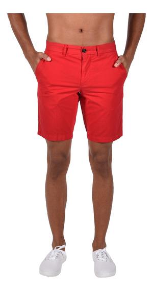 Shorts Classic Fit Tommy Hilfiger Rojo Mw0mw06135-611 Hombre