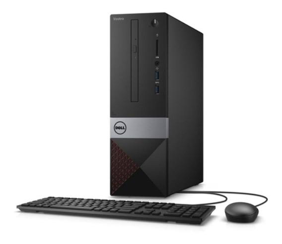 Desktop Dell Vostro 3470 Fhd I3-9100u 1tb 4gb Linux Preto