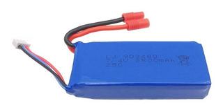 Bateria Drone Syma X8c X8g X8w 2500 Mah 7,4v Extra Poder 30c