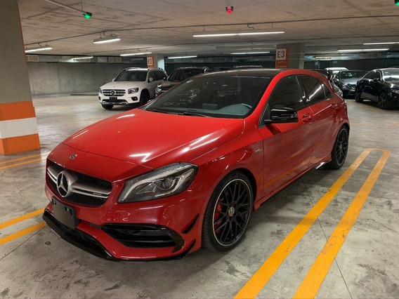 Excelente Mercedes Benz A 45 Amg Rojo 2018