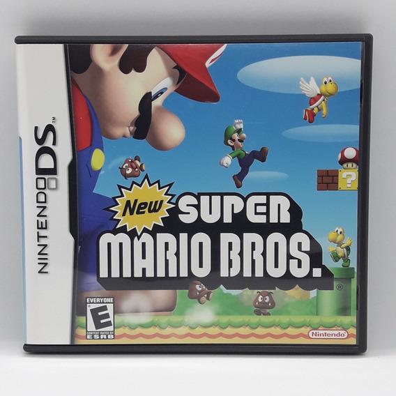 New Super Mario Bros Nintendo Ds Nds Midia Fisica Jogo Game