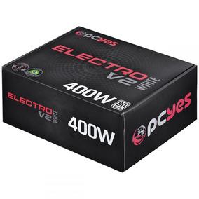 Fonte Atx 400w Electro V2 Elv2whpto400w Pcyes